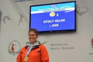 Goldmedaille für Silke Stolt