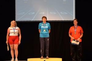 Bronzemedaille für Silke Stolt bei Senioren-WM
