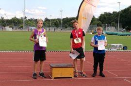 Elias Betz gewinnt die Silbermedaille