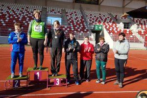 Silke Stolt bei Deutschen Meisterschaften
