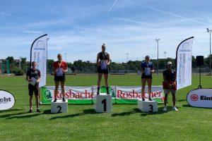 Bronze bei Süddeutschen Meisterschaften